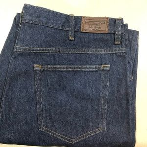 LLBean Men's Relaxed Jeans 38x34 New Never Worn